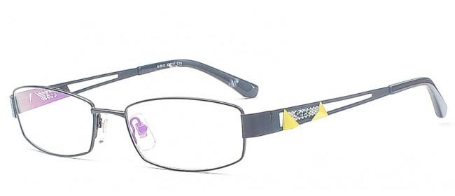 Damen & Herren Vollrandbrillen Modell aus Metall