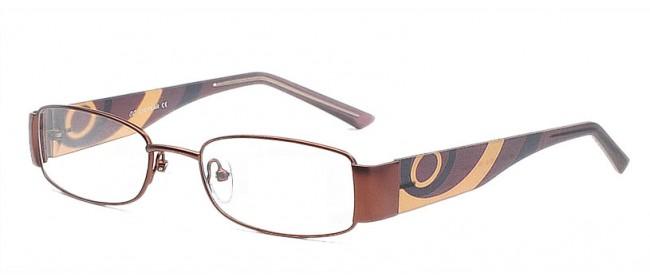 Farbenfrohes Brillengestell für die Dame