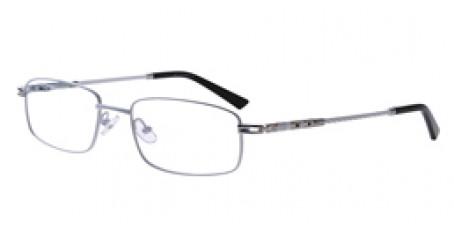 Weiße Vollrandbrille für Damen und Herren