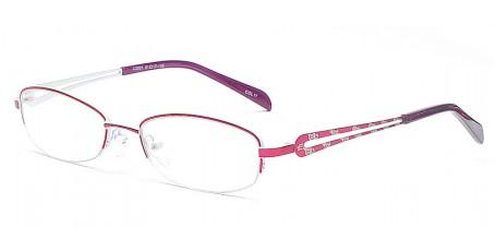 Halbrandbrille mit schmaler Brillenfront